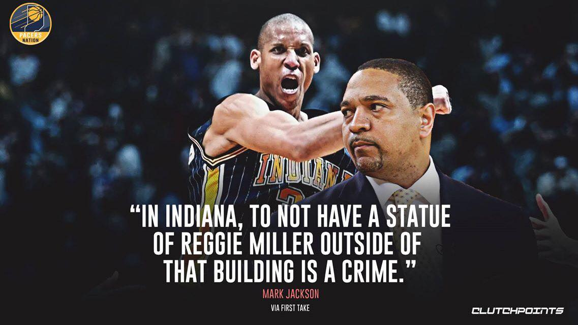 Greatest Pacer ever! 🙌 https://t.co/H35IRCNri1