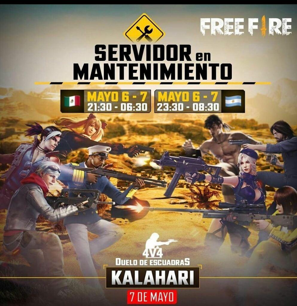 Esto sera para que el mapa de KALAHARI este en el duelo de escuadra #freefirepanamá#freefirebrasil#freefireargentina#freefirechile#freefireparaguay#frefirenovedades #freefirenews#freefiremexicooficial#freefirelucu#freefiremundialpic.twitter.com/TZk5BZn0vq