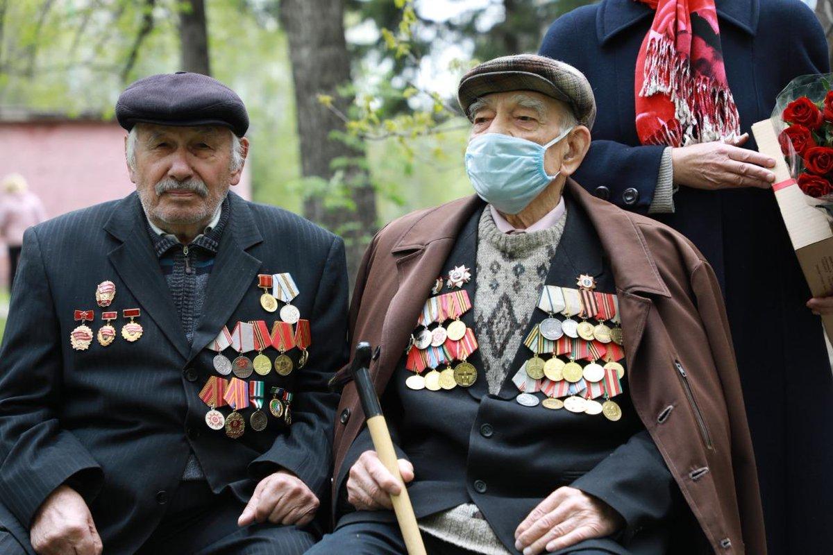 Поздравление с ветерана войны