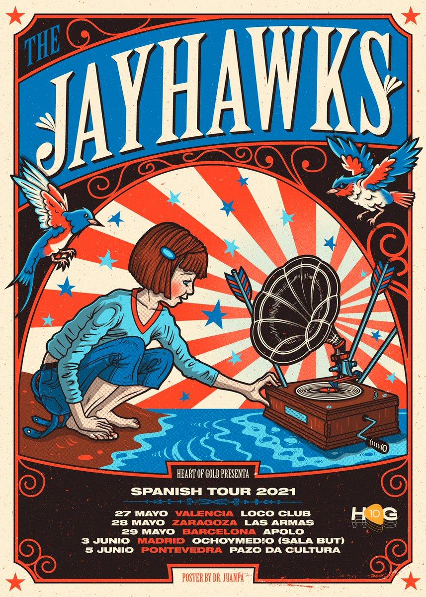 ⚠APLAZADO The Jayhawks ⚠ https://t.co/6HayRCJQ4x