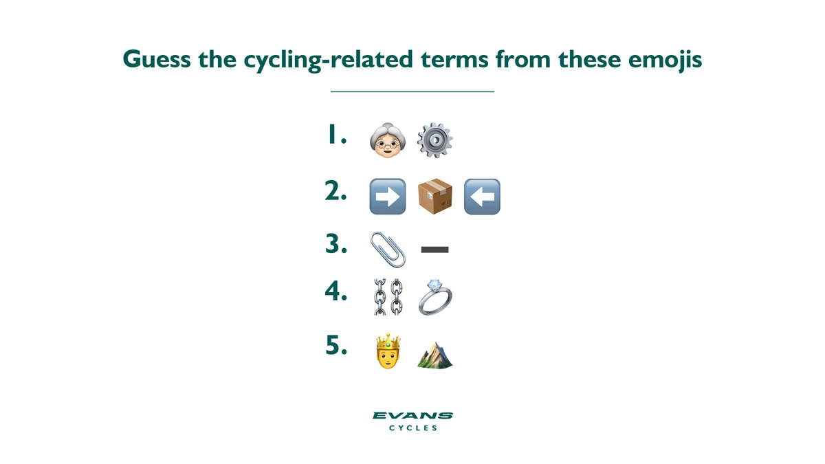 🚲 It's time for a mid-week quiz  ✍️ Hit reply and tell us your answers https://t.co/1UXfnuSdiM