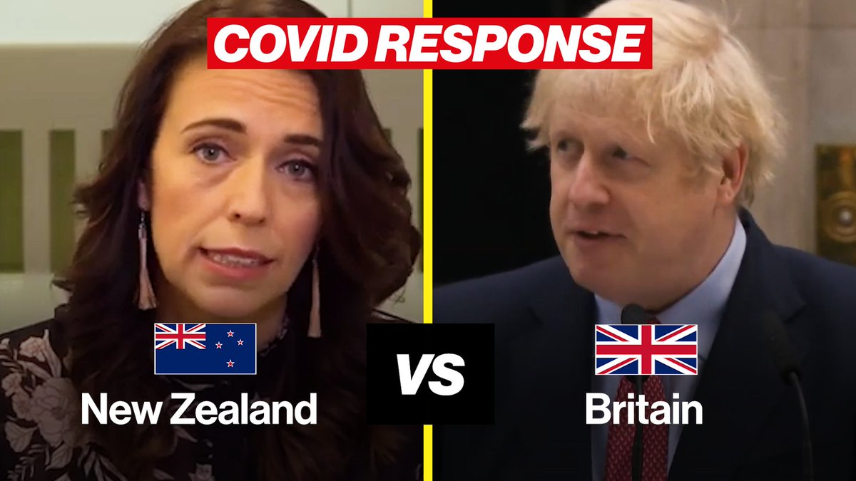 This superb video has now clocked past 3 million views.  It's a brutal 3-minute summary of New Zealand's success vs the UK's failure. Keep sharing it.