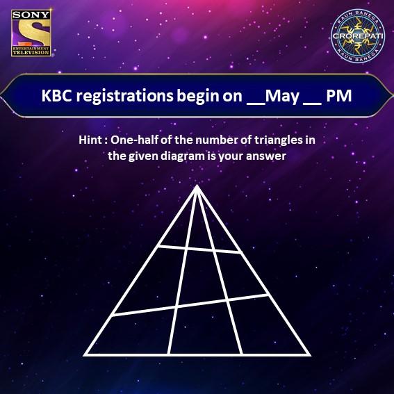 KBC Registration Image