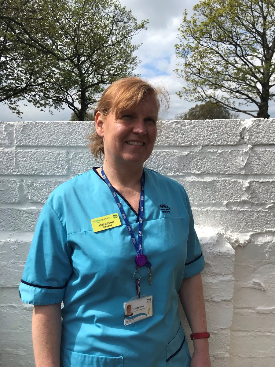 #HutchieHero, current Hutchie Mum and former Hutchie Head Girl  Lesley Cook, C1989, is a pharmacist in the Queen Elizabeth University Hospital, working on the frontline during the coronavirus pandemic. #WeAreHutchie #BeOneOfUs https://t.co/7fI7fvxdrO