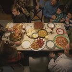 Image for the Tweet beginning: Food brings people together, who