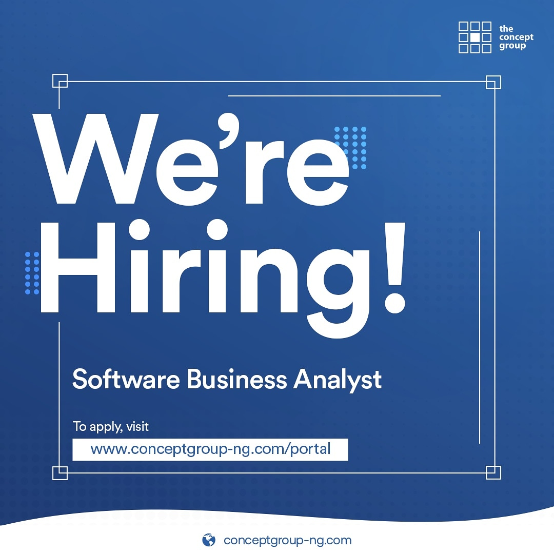 We are looking for that smart,enthusiastic and self motivated individual who will join our team as a Software Business Analyst. If this is your personality,  apply using https://t.co/2J9j7r1gOz. https://t.co/EqyU2n19KG