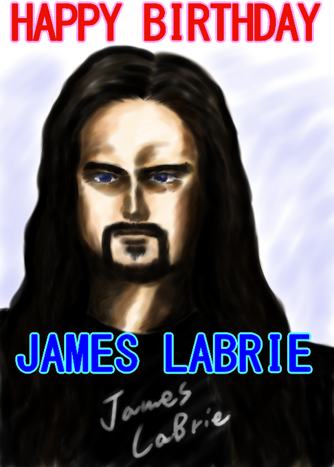 Happy Birthday James LaBrie