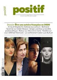 Même en confinement, le numéro de mai de @RevuePositif est paru. Avec un dossier sur les actrices françaises réunissant notamment des entretiens avec #AnaïsDemoustier #EmmanuelleDevos @HafsiaHerzi et #MarinaVlady #Soutenonslapresse