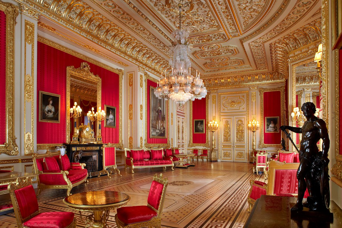 inside buckingham palace the queen's bedroom - HD1200×800