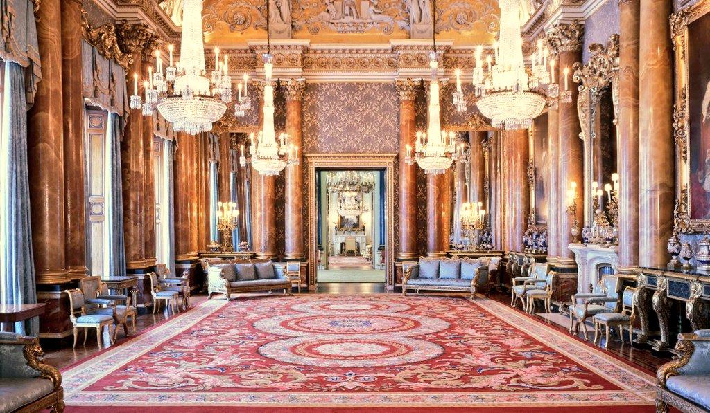 inside buckingham palace the queen's bedroom - HD4509×2629