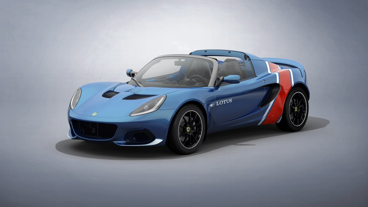 [TLF News] Lotus reveals four limited edition Elise liveries based on racing heritage https://t.co/0GFumFAZry https://t.co/BcJtGyaPXc