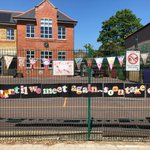 Image for the Tweet beginning: The lovely bunting the children