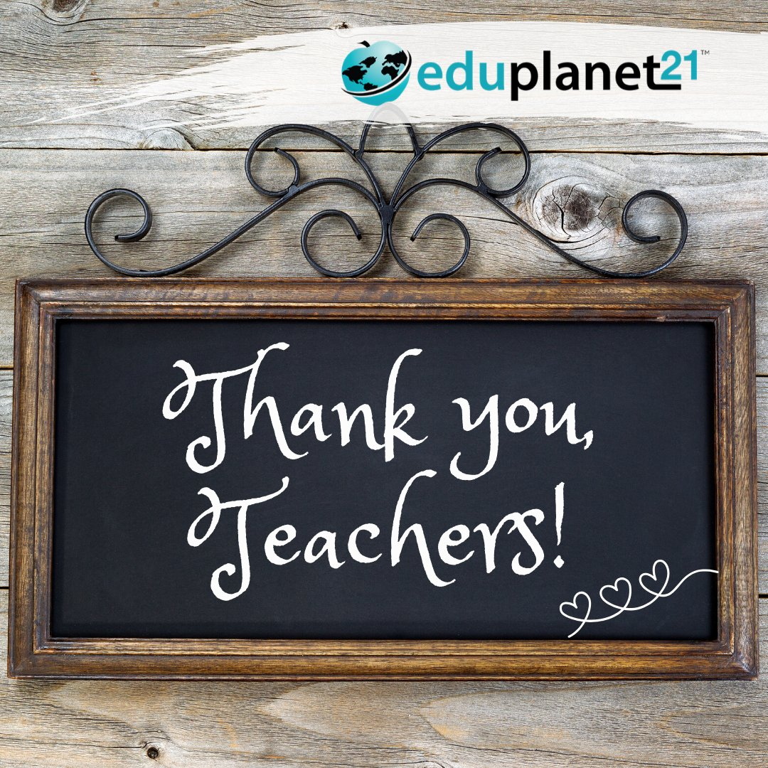 We want to thank every teacher out there for the impact you have on students every day. You not only help students learn, you encourage growth, perseverance, and confidence. Your commitment is honorable. We appreciate you! ❤️ #thankateacher #teacherappreciationweek #edchat https://t.co/3FmQ2LkSw0
