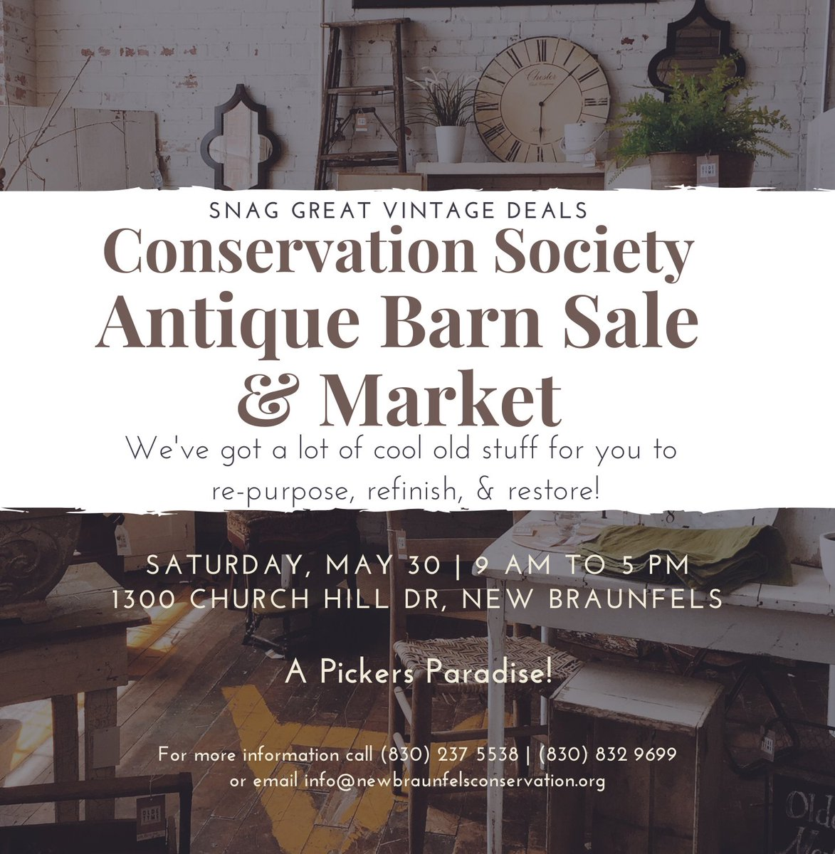 Did you mark your calendar yet? You won't want to miss out on this pickers paradise! #outdoormarket #openairmarket #antiques #antiquesale pic.twitter.com/xrwjffVArd