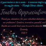 Image for the Tweet beginning: 𝒯𝑒𝒶𝒸𝒽𝑒𝓇 𝒜𝓅𝓅𝓇𝑒𝒸𝒾𝒶𝓉𝒾𝑜𝓃 Week Thank you, educators,