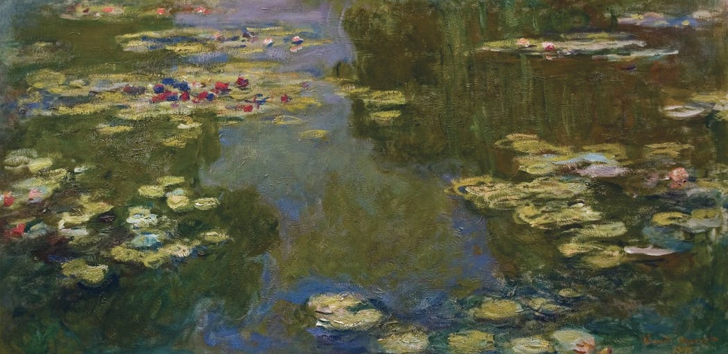And the Lilywhite I never knew her name  Image: 'Le Bassin Aux Nymphéas' by Claude Monet https://t.co/pQCJrVIDFb
