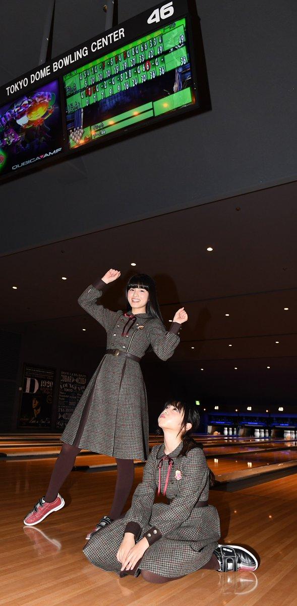 東京ドームでボーリングする桃与田スコア49で勝つ桃ちゃん