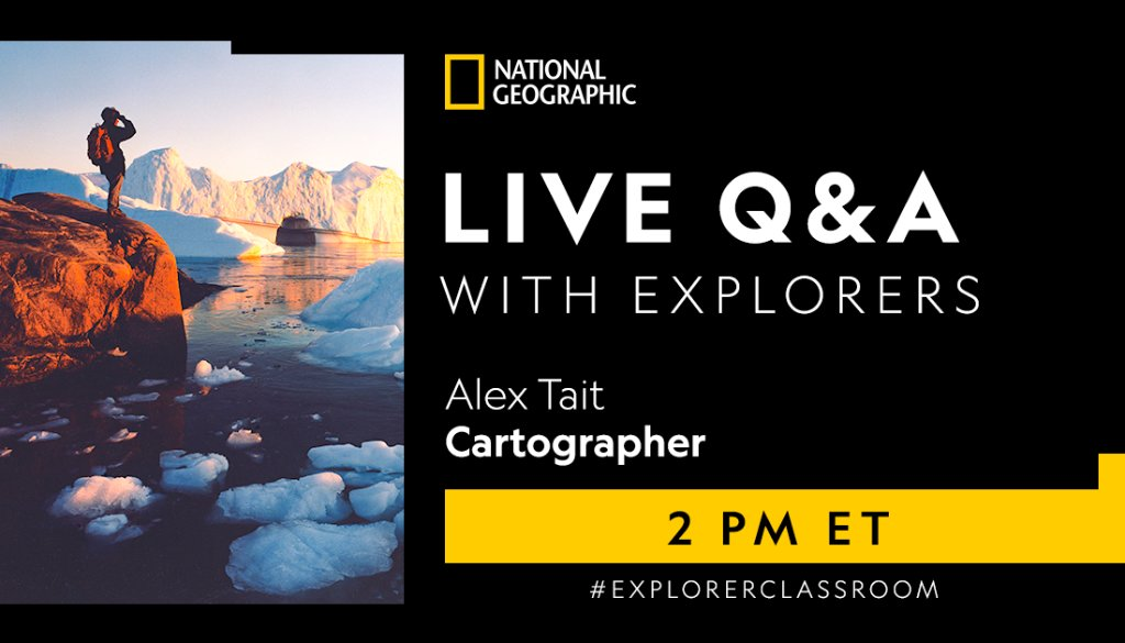What does is take to map the tallest mountain in the world? 🏔️ Join the conversation about how to map one of the most extreme environments in the world in today's #ExplorerClassroom session at 2PM ET. https://t.co/SMRyVbnZQq https://t.co/V7PIMuWjNX