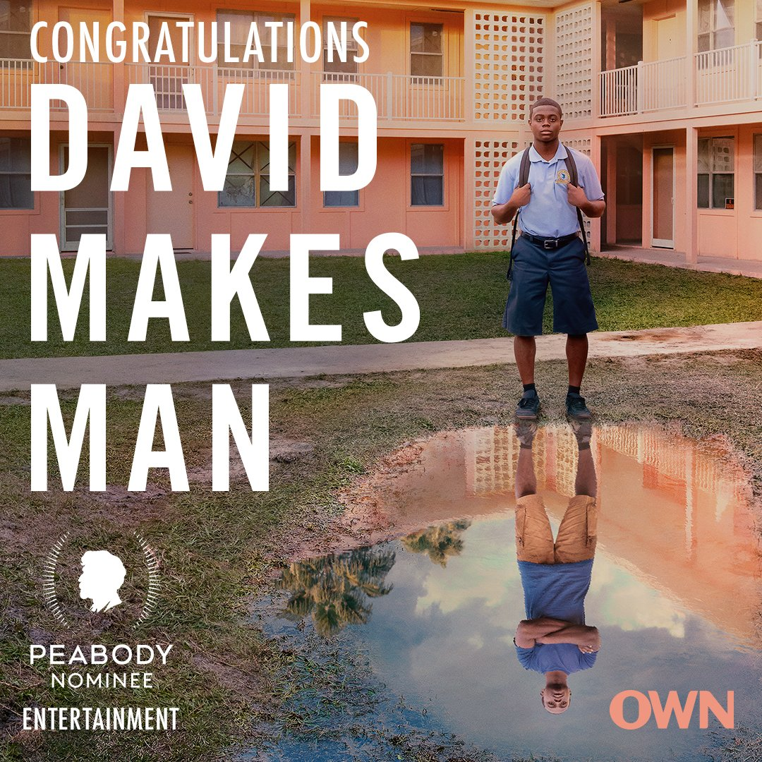 We are beyond excited to be a #PeabodyNominee! Thank you, @PeabodyAwards 💪🏾 #DavidMakesMan https://t.co/BTFuxgDofY