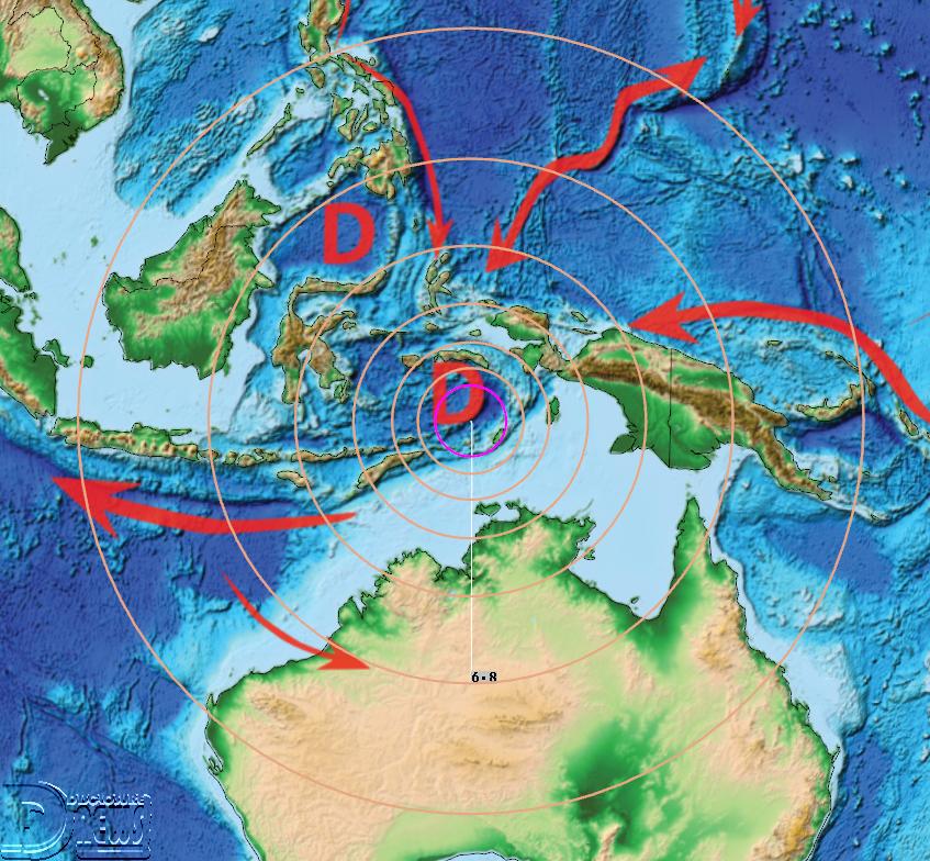 News Burst 7 May 2020 - M6.8 Saumlaki, Indonesia