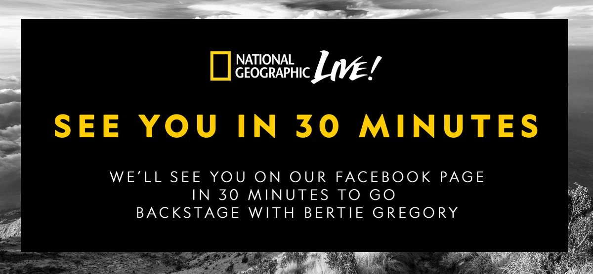 See you at 1pm ET / 10am PT as we go backstage with  @BertieGPhoto on https://t.co/cmOMRBhXZx! https://t.co/ox5GSj3bco