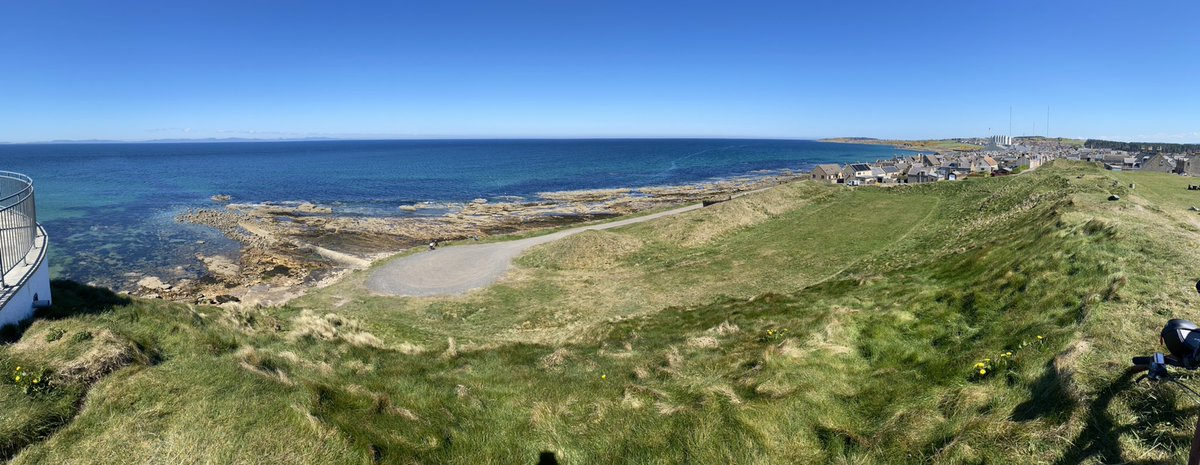 Stationed @RAFLossiemouth? Take a bike ride along the Moray trail to Burghead and enjoy views like this: @weheartmoray https://t.co/htBE13CTYO