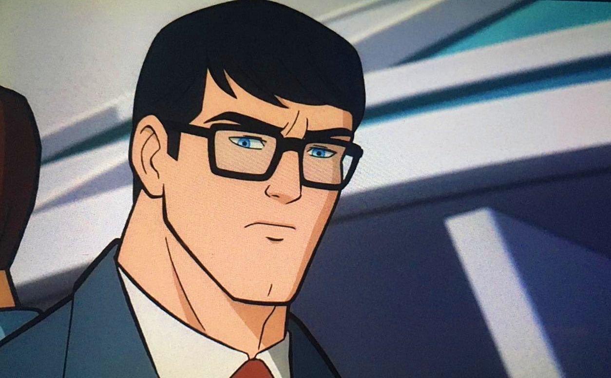 """Divulgada imagens da próxima animação da DC, """"Superman – Man Of ..."""