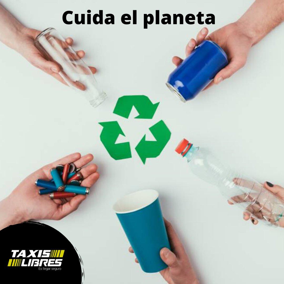 Es tarea de todos cuidar nuestro entorno, por eso es importante incluir en nuestros hábitos de vida, implementar las 3R (Reusa, Recicla y Reutiliza)  y así contribuir a nuestro planeta. #TipsLT4 #CuidoElPlaneta #CaliCo #TaxisLibresLos4pic.twitter.com/Xk4Ke4daIy