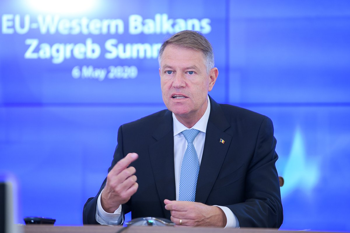 We need to remain committed towards advancing the European perspective of the Western Balkans and to take forward our cooperation. We must be clear in restating that we are not abandoning these strategic objectives. Full support from 🇷🇴! #EUWesternBalkans #ZagrebSummit #EU2020HR. https://t.co/TuU88IL2QH