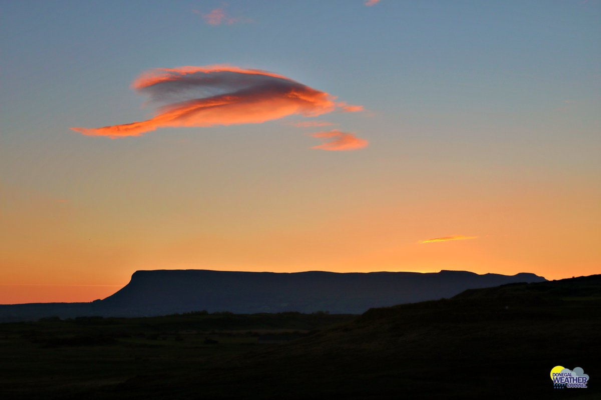 Just before Sunrise this morning overlooking BenBulben Co.Sligo .