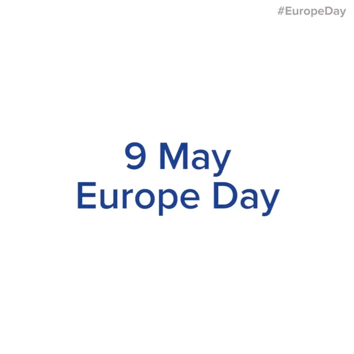 #EuropeDay is around the corner. This weekend we will celebrate the EU 🕊️ Peace, ⭐ Values and 💙 Solidarity that, especially during the coronavirus pandemic, are crucial to overcome the crisis together. Stay tuned to celebrate with us on Saturday 9 May! #UnitedAgainstCoronavirus