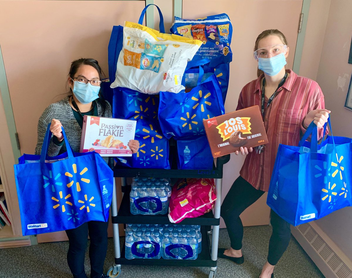 test Twitter Media - Providence Manor is feeling the love! Yesterday @WalmartCanada surprised staff with reusable bags full of snacks to thank them for all their hard work amidst #COVID19. We cannot thank our community enough - your compassion and generosity means the world to us! #ygk https://t.co/BBPuiInvob