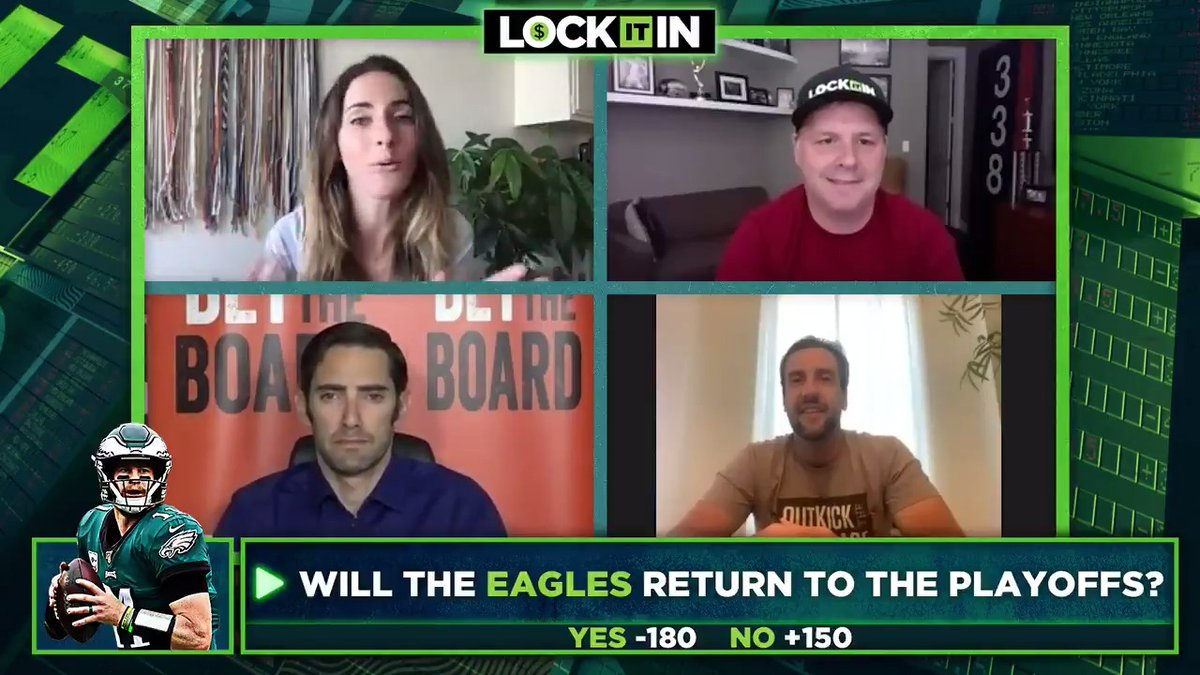 Will the Eagles return to the playoffs? @TheCousinSal | @ClayTravis | @ToddFuhrman