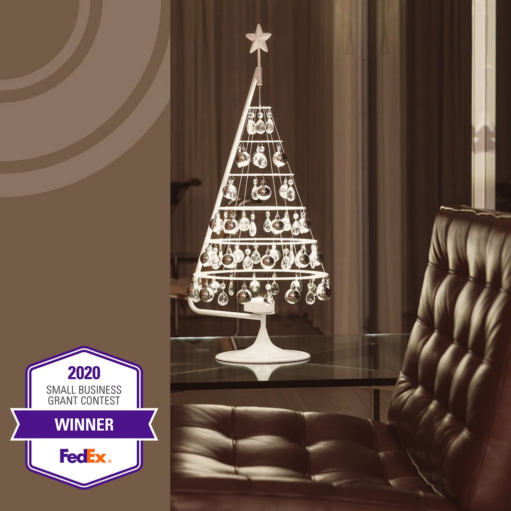 Modern Christmas Trees On Twitter A Big Thank You To Everyone Who Voted For Us In The Fedex Small Business Grant Contest We Took Home The Bronze With Your Help We Continue