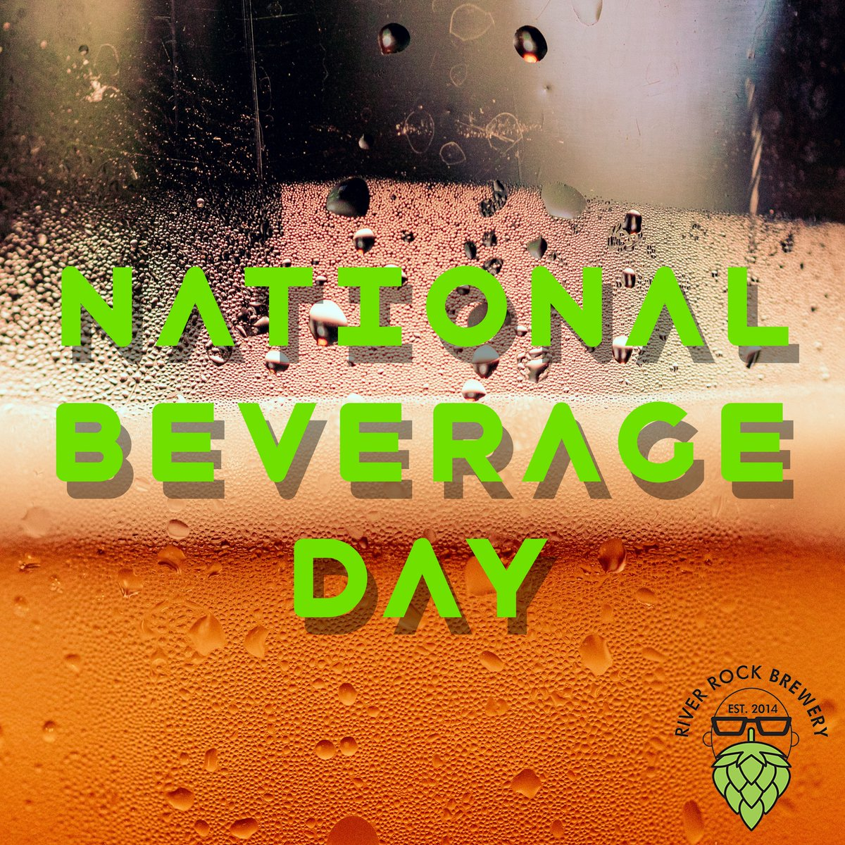 It's National Beverage Day! Cheers! Post a picture of yourself with your favorite flavor of our beer with the hashtag #nationalbeverageday and tag us! #beerselfie #craftbeer #craftbeerlovers #microbrew #microbrewery #selfie #nanobrew #nanobrewery #supportyourlocalbrewer https://t.co/ebbJU3bvZv