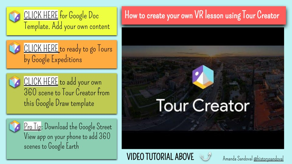 🎢CREATING VIRTUAL REALITY LESSONS FOR YOUR STUDENTS IS EASIER THEN YOU THINK AND DO NOT REQUIRE HEADSETS. I MADE A LONG OVER-DUE TUTORIAL TO WALK YOU THROUGH IT. docs.google.com/presentation/d…