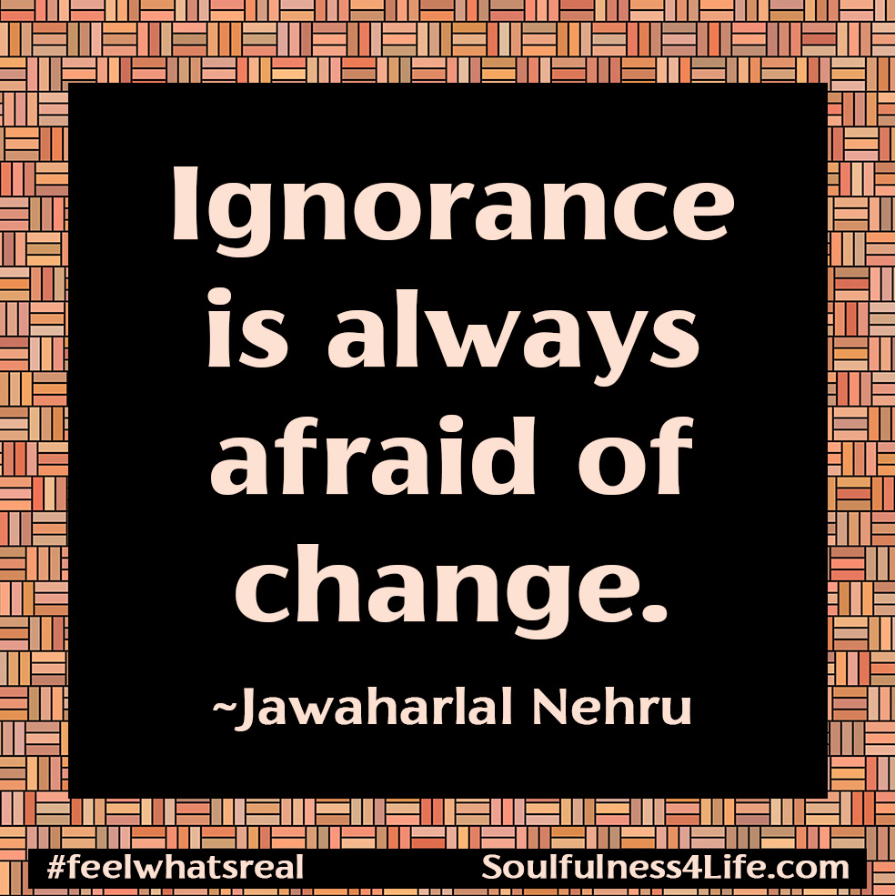 """SOULfirmation: """" I CHALLENGE MY IGNORANCE AND FEAR."""" (Close your eyes and repeat slowly in your mind or out loud.) https://t.co/JJABNxu2AD  #WednesdayWisdom #quotes #inspiration #meditation #mindfulness #fear #ignorance #change #soulfulness #healing #transformation https://t.co/gwcDCSXO4s"""