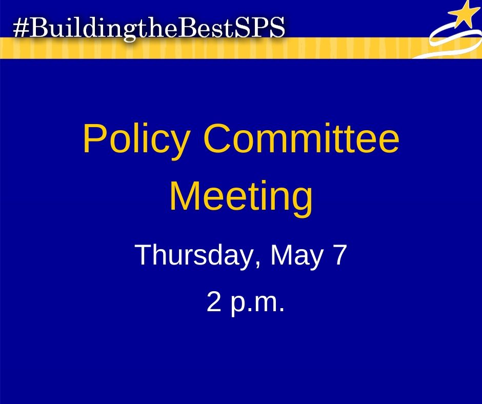 Be sure to tune in tomorrow for the Policy Committee Meeting. Click the link to watch: bit.ly/2SHw9ie