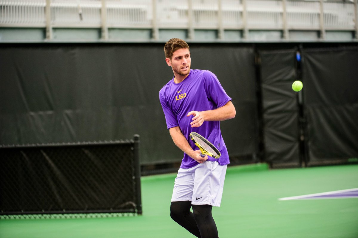 Today we join @ITA_Tennis in celebrating the 2020 graduating class! 👏 Never enough love for Ruy Teixeira, who will make Tiger nation proud with his future success! #Set4Success | #GeauxTigers