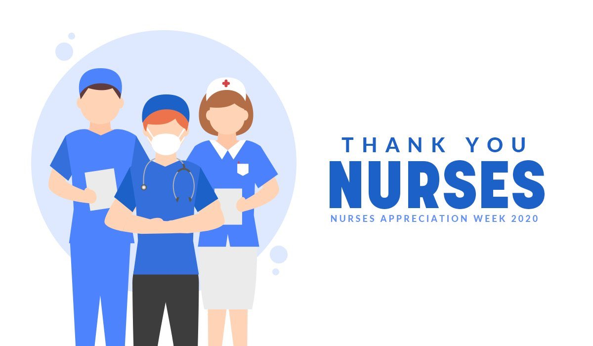 The work of nurses across the country is crucial for healing us in this time of great need. To our nurses going above and beyond, caring for those who are ill and suffering, America thanks you for your sacrifice. #NursesWeek2020