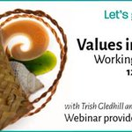 Image for the Tweet beginning: Values in Action: Working Remotely