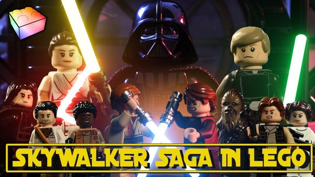 After over 6 months of work, our LEGO animated retrospective to the @starwars Skywalker Saga is complete, featuring contributions from 34 animators.  Check it out here! https://t.co/NTlcBROLNP https://t.co/Xo843BdLQ7