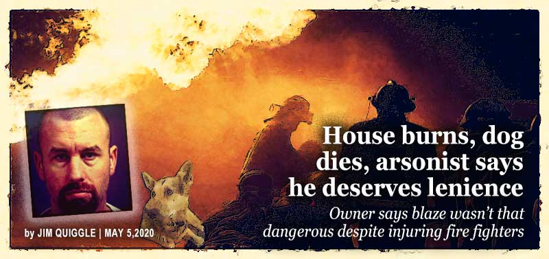 #FraudOfTheMonth (May): Trained firefighter torched his family's home, killed a dog and thought he deserved leniency because the fire wasn't a big deal. Does he deserve leniency? http://bit.ly/3b4kpfW #insurance #arson #insurancefraud pic.twitter.com/4PR3IACGFI