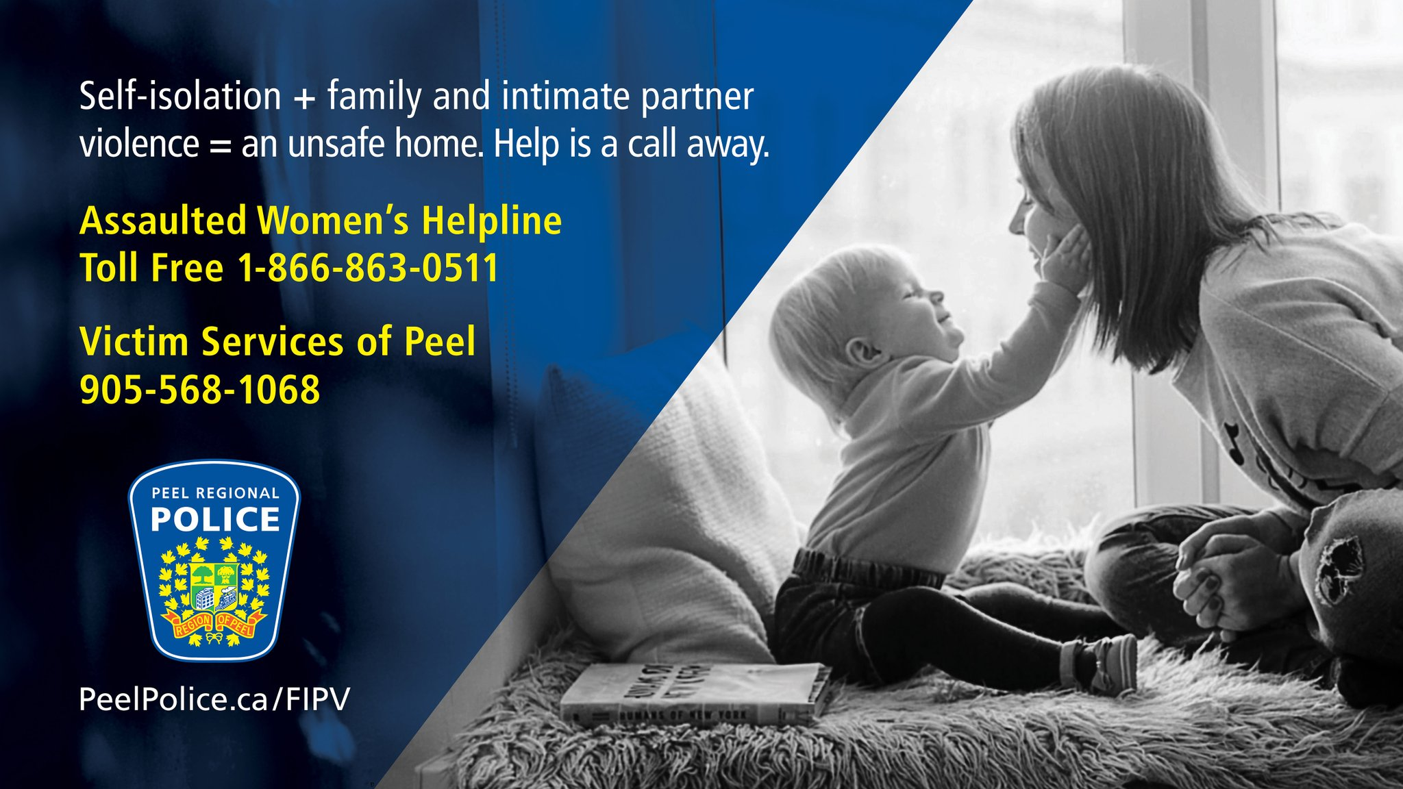 Peel Regional Police On Twitter Family And Intimate Partner Violence Is Never Okay Support Resources And Safety Plans Are Available Https T Co Gqyhczdvvh Victimservpeel Pcawa1 Safecentre Https T Co 1rwbklvjo4