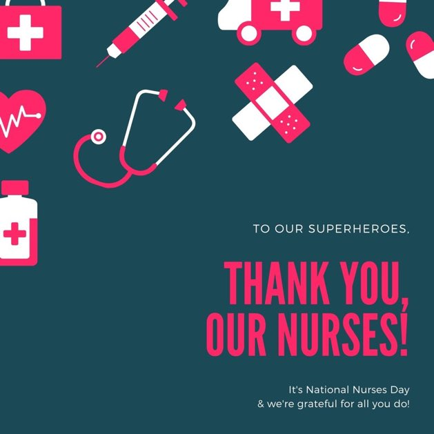 Thank you to our NURSES on this special day!!!