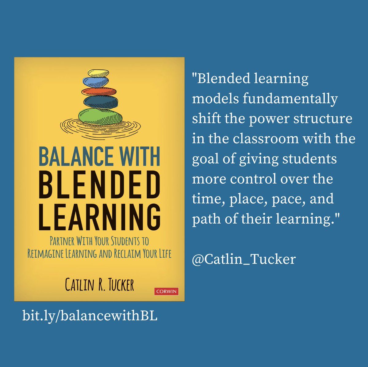 As #teachers think about (& prepare for) next school year, I hope they'll explore #blendedlearning to ensure students are prepared to learn in the classroom or online should schools be forced to close again. #edchat #BLinAction #distancelearning #RemoteLearning #onlinelearning