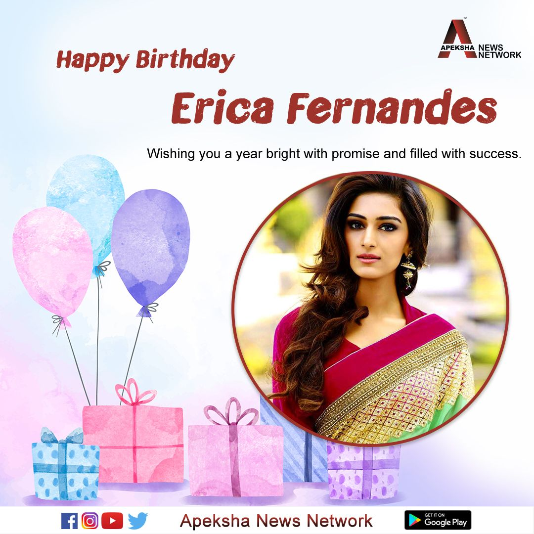 Wishing the gorgeous @IamEJF a very Happy Birthday.  #EricaFernandes #HappyBirthdayErica pic.twitter.com/EcDkMt90a0
