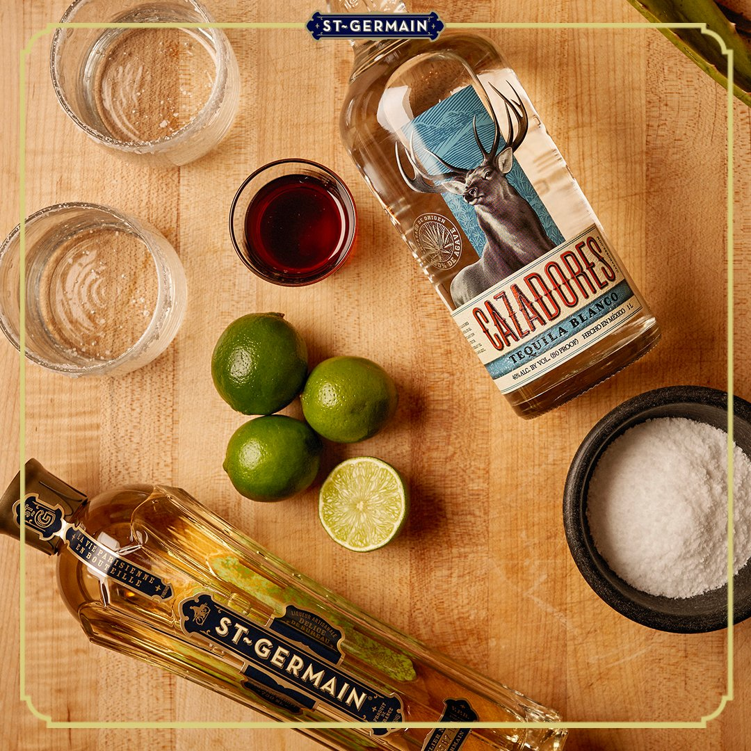 Let the #CincoDeMayo countdown begin!  Invite family and friends for a virtual fiesta and mix up the St~Rita. #StGermainDrinks https://t.co/JcCWVvEnCO