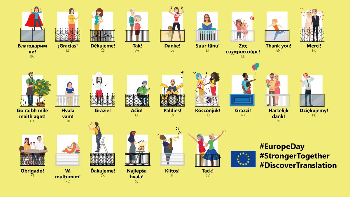 """EDPS's tweet - """"On #EuropeDay 🇪🇺, we should remember the ..."""