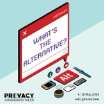 Image for the Tweet beginning: Protect your privacy, find an